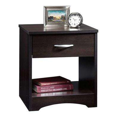 Beginnings Collection 1-Drawer Nightstand in Cinnamon Cherry