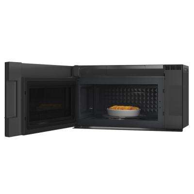2.1 cu. ft. Over the Range Microwave with Sensor Cooking in Platinum