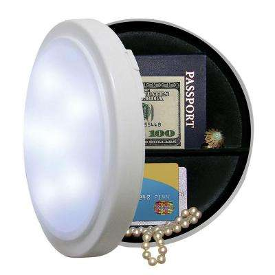 8 in. Wireless Closet Light with Concealed Safe