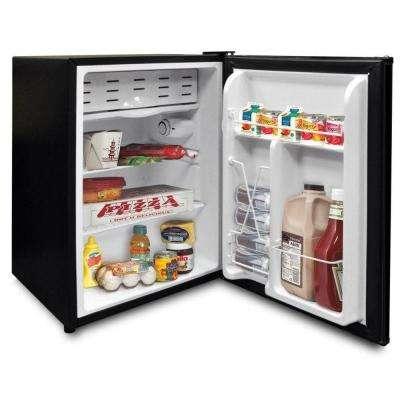 2.6 cu. ft. Mini Refrigerator in Black