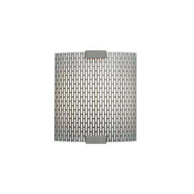 Omni 1-Light Bronze Small LED Sconce with Metal Shade