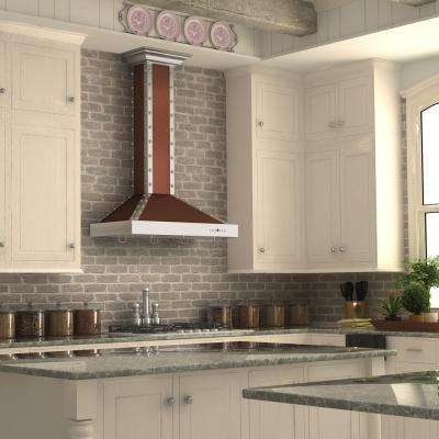 ZLINE 30 in. 760 CFM Wall Mount Range Hood in Copper and Stainless Steel