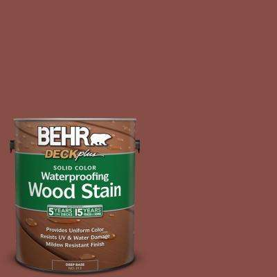 1 gal. #PPU2-18 Spice Solid Color Waterproofing Wood Stain