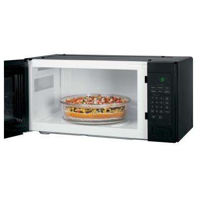 Profile 1.1 cu. ft. Countertop Microwave in Black with Sensor Cooking