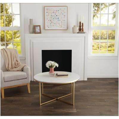 Brentwood Walnut 6 in. x 24 in. Glazed Porcelain Floor and Wall Tile (14.55 sq. ft. / case)