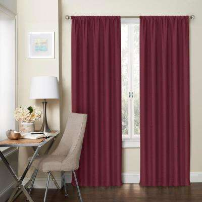 Blackout Wallace  Rod Pocket Curtain