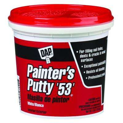 4 lb. White Painter's Putty 53 (6-Pack)