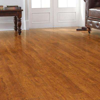 High Gloss Rosen Cherry 12 mm Thick x 4-7/8 in. Wide x 47-3/4 in. Length Laminate Flooring (16.16 sq. ft. / case)