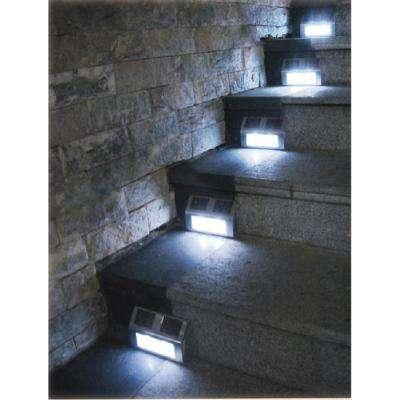 Bronze Solar Step Lights (4-Pack)