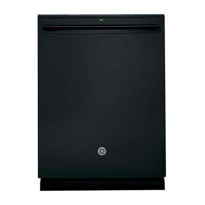 Top Control Built-In Tall Tub Dishwasher in Black with Stainless Steel Tub and Steam Prewash