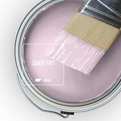 Behr Premium Plus 1 Qt 680a 1 Candy Tuft Eggshell Enamel Low Odor Interior Paint And Primer In One 205004 The Home Depot