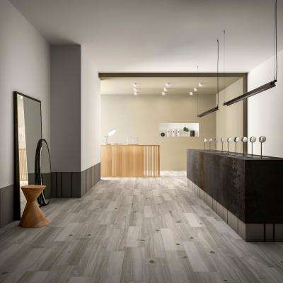 Havenwood Platinum 8 in. x 36 in. Glazed Porcelain Floor and Wall Tile (14 sq. ft. / case)