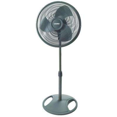 Adjustable-Height 16 in. Oscillating Pedestal Fan