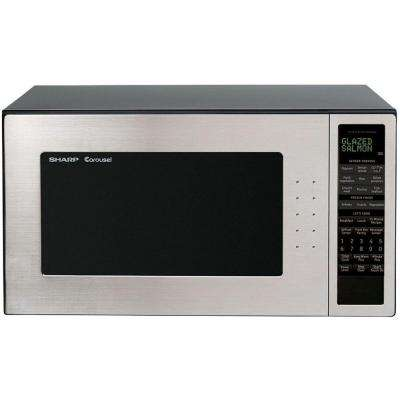 Refurbished 2.0 cu. ft. Countertop Microwave in Stainless Steel with Sensor Cooking-DISCONTINUED