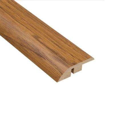 Hickory 1/2 in. Thick x 1-3/4 in. Wide x 94 in. Length Laminate Hard Surface Reducer Molding