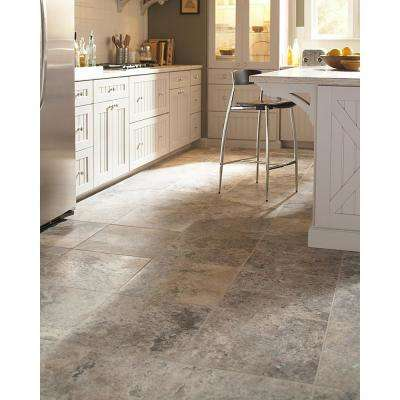 Silver 18 in. x 18 in. Honed Travertine Floor and Wall Tile (2.25 sq. ft.)