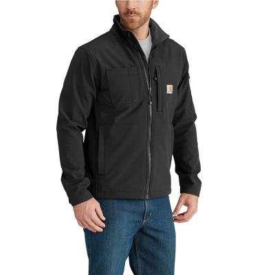 Men's Nylon/Spandex/Polyester Rough Cut Jacket