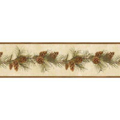 6.3 in. Fleming Sand Pine Boughs Trail Border