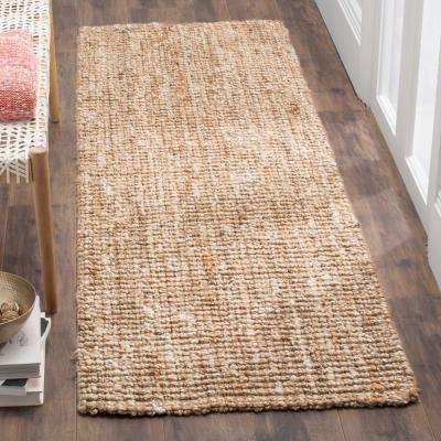 Natural Fiber Beige/Ivory 3 ft. x 12 ft. Runner Rug