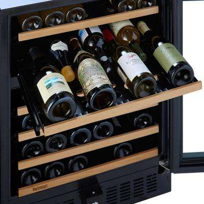 N'FINITY PRO Double S 92-Bottle 47.5 in. Wine Cellar