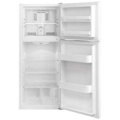10 cu. ft. Top Freezer Refrigerator in White, ENERGY STAR