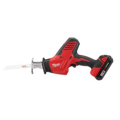 M18 18-Volt Lithium-Ion Cordless Hackzall Reciprocating Saw Kit