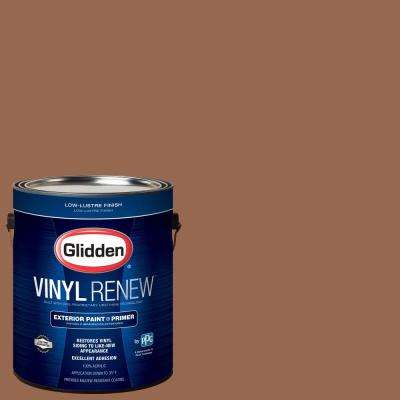 1 gal. #HDGO26U Artist's Copper Low-Lustre Exterior Paint with Primer