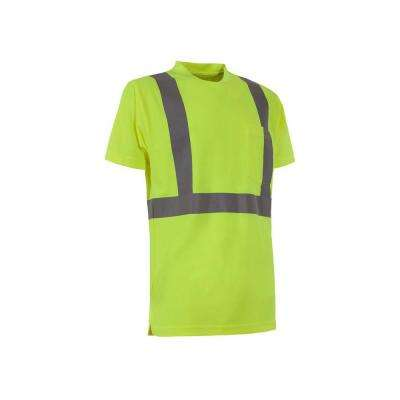 Men's Hi-Visibility Type R Class 2 Performance Short Sleeve T-Shirt