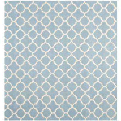 Chatham Blue/Ivory 8 ft. 9 in. x 8 ft. 9 in. Square Area Rug