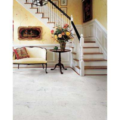 Greecian White 12 in. x 12 in. Honed Marble Floor and Wall Tile (5 sq. ft. / case)