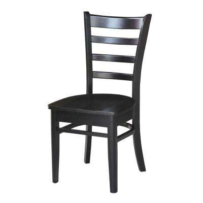 Pair of Emily Chairs in Black