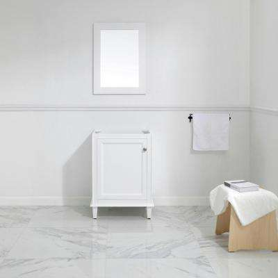 Riverpine 24 in. W x 22 in. D Vanity Cabinet Only in White