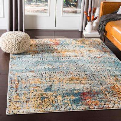 Caius Multi 2 ft. x 3 ft. Moroccan Area Rug