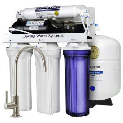 5-Stage Under-Sink Reverse Osmosis Water Filter with Booster Pump