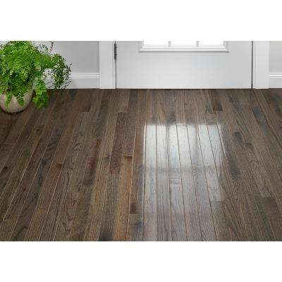 Plano Oak Gray 3/4 in. Thick x 2-1/4 in. Wide x Varying Length Solid Hardwood Flooring (20 sq. ft. / case)