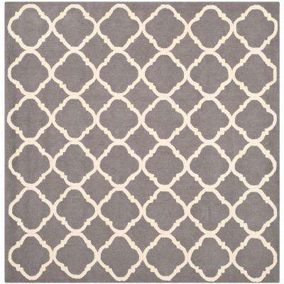Newport Blue/Ivory 7 ft. x 7 ft. Square Area Rug