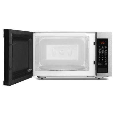 2.2 cu. ft. Countertop Microwave with Greater Capacity in Fingerprint Resistant Stainless Steel