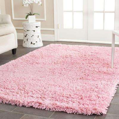 Classic Shag Ultra Pink 8 ft. 6 in. x 11 ft. 6 in. Area Rug
