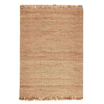 Braided Natural 8 ft. x 11 ft. Area Rug