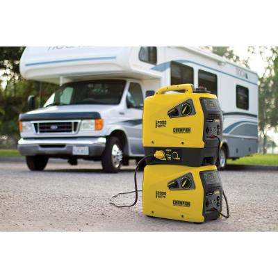 2,000-Watt Gasoline Powered Stackable Portable Inverter Generator