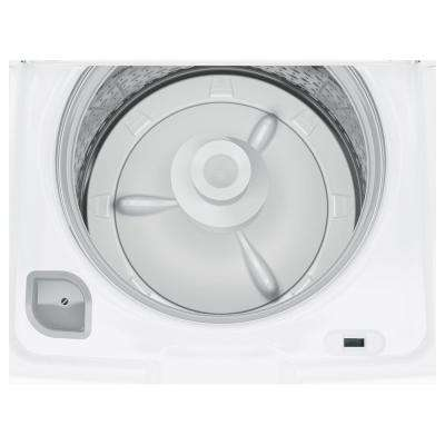 4.2 cu. ft. High-Efficiency White Top Load Washing Machine with Stainless Steel Tub