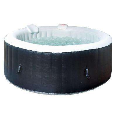 Aquaspa Deluxe 4 to 6-Person 140-Jet Portable Round Spa