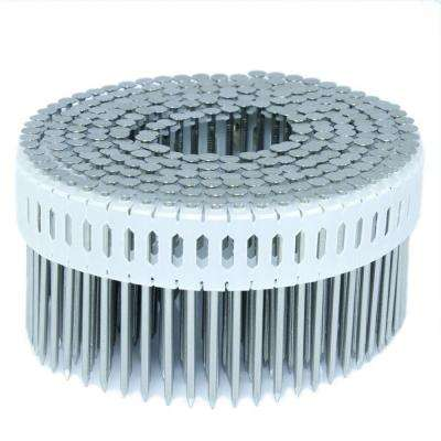 2.25 in. x 0.092 in. 0-Degree Smooth Stainless Plastic Sheet Coil Nail 1,000 per Box