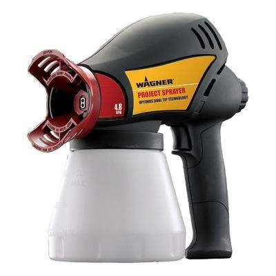 Optimus Airless Cup Gun Paint Sprayer
