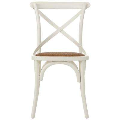 Hyde Ivory Wood Dining Chair (Set of 2)