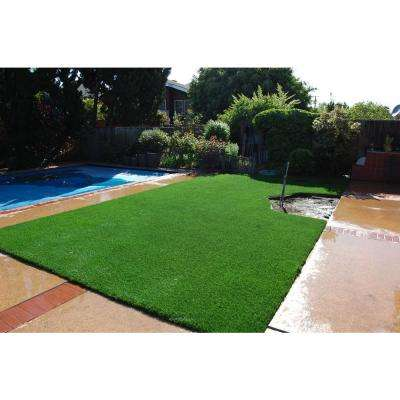 Classic Premium 65 Spring Artificial Grass Synthetic Lawn Turf Carpet for Outdoor Landscape 7.5 ft. x Customer Length