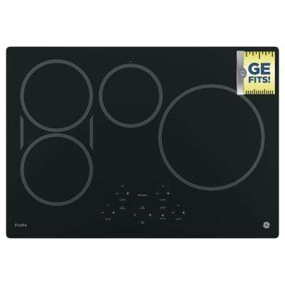 30 in. Electric Induction Cooktop in Black with 4 Elements