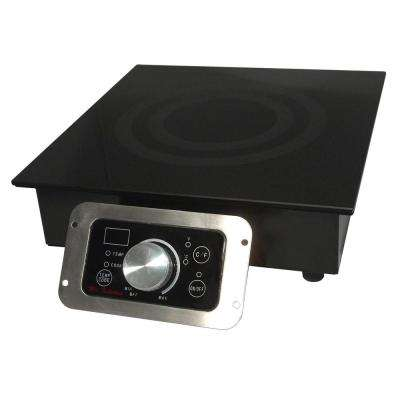 12 in. Built-In Electric Induction Cooktop in Black
