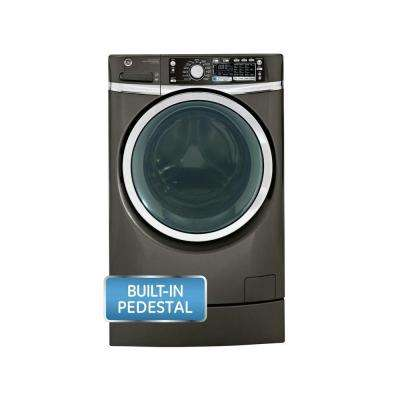 4.8 DOE cu. ft. High-Efficiency Right Height Front Load Washer with Steam in Metallic Carbon, ENERGY STAR