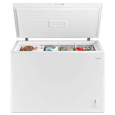 9 cu. ft. Chest Freezer in White with DeepFreeze